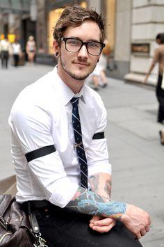 wall street hipster
