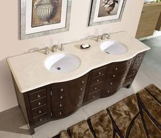 Marble Top with white ceramic sink