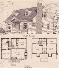 Portland Telegram Book  - 1924 - Plan 619 (this could be our house, but this has a better layout)