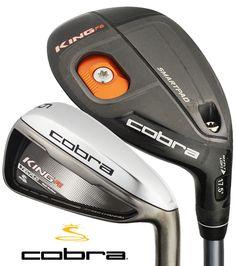 King Cobra F6 Hybrid Irons | Rock Bottom Golf #RockBottomGolf Golf Club Sets, Golf Clubs, Cobra Golf, Mens Golf Outfit, Sand Wedge, Golf Videos, Golf Stores, Rock Bottom, Golf Accessories