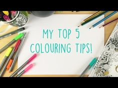 5 Coloring Tips from Johanna Basford - Adult Coloring Blog