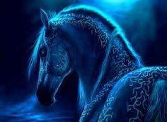 Beautiful Fantasy Blue Horse Abstract Animal For PC Computer 3d Fantasy, Fantasy Images, Fantasy Pictures, Dark Fantasy, Blue Background Wallpapers, Backgrounds, Blue Wallpapers, Horse Background, Fire Horse