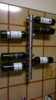 Rack Porta Vinos - Acero Inoxidable - 12 Botellas -   1 61b1276065c9