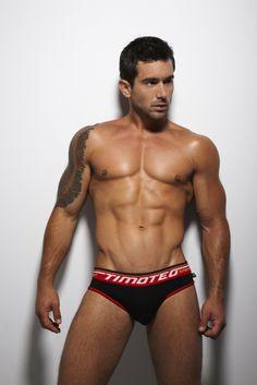 sport super, beauti men, timoteo, black, hot underwear