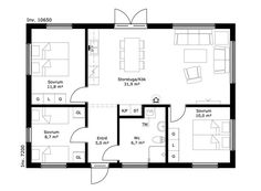 Cottage Floor Plans, Small House Plans, Tiny House, How To Plan, Interior Design, Future, Tiny Houses, Home Plans, Cottage