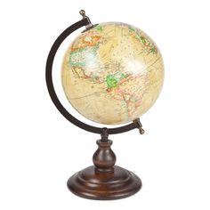 Wood and Steel World Globe | ZARA HOME United Kingdom