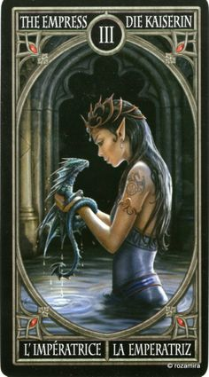 Готическое Таро Анны Стокс — Anne Stokes Gothic Tarot | Rozamira ...
