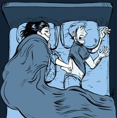 Why Your Spouse Always Has Cold Feet Does the temperature of your bedroom plummet when your partner crawls under the bed sheets? When their icy cold feet touch yours, do you scream? Sometimes, always-cold feet aren't attributable to a.