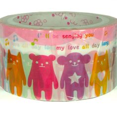 Kawaii masking deco tape 15M Rainbow color by scrapbooksupply, $3.20