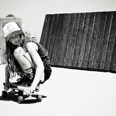 Skater girl. @littledreambird