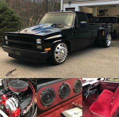 New Chevy Truck, Custom Chevy Trucks, Chevy Pickup Trucks, Mack Trucks, Classic Chevy Trucks, Chevrolet Trucks, Lowered Trucks, Dually Trucks, Chevy Stepside