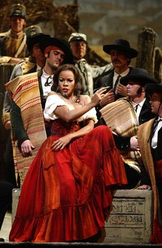Soprano Denyce Graves as Carmen!