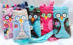 Owl EpiPen / Medicine Pack / EpiPen Case / Purse by lovebugsco