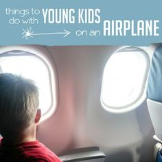 Simple Things for Young Kids to Do on an Airplane