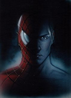 """Spider-man / Peter"" by James Goodridge - Fantastic original artwork available at ArtInsights"