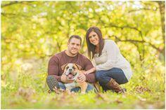 Bulldog Engagement Photos, Des Moines, Iowa Fall Engagement Photos by ZTS Photo http://www.ztsphoto.com Sarah & Tanner Urich