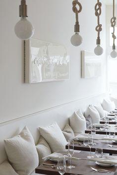 A Whiter Shade of Pale: Petit Crenn in San Francisco | Remodelista | Bloglovin'