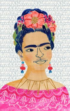 Frida Kahlo artist extraodinaire painter by Sarah Walsh on Etsy