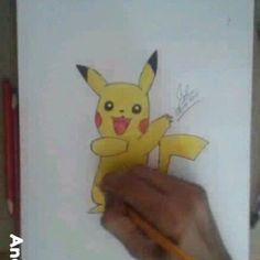 #17 #timelapse On my PIKACHU drawing!!! #cuteness #pikachu #pokemon #pokemondrawing  #animeart #animeartgallery #art_conquest#worldofartist #young_artist_help #smallartist