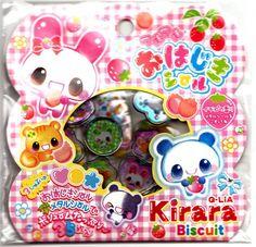 Q-Lia+Japan+Kirara+Biscuit+Jewel+Sticker+Sack+Kawaii