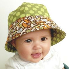 Seaside Sailor Hat Pattern - newborn through 8 years - PDF download