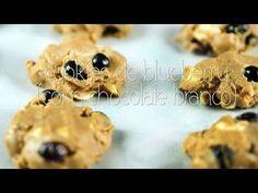 Os mais deliciosos Cookies de Blueberry com Chocolate Branco você aprende aqui! Vem! <3