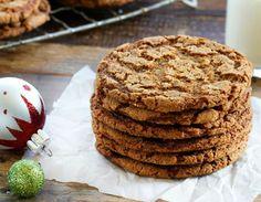 Γιορτινά μπισκότα με τζίντζερ χωρίς ζάχαρη - Jenny.gr