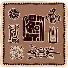 Conjunto de mexicanos Elementos de Design