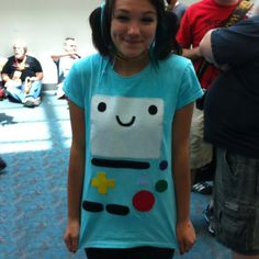 Bemo from Adventure Time what a great idea for a costume