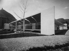 Sant'Elia's School, Como, Italy, Giuseppe Terragni :: 1936-1937