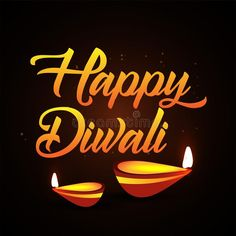 Happy Diwali poster, header, banner or greeting card design. With illustration o , #Ad, #greeting, #banner, #design, #card, #Diwali #ad