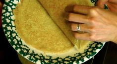 Sourdough Crepes. These are THE BEST EVER!! Also use the finished crepes to make your own homemade tortilla chips.