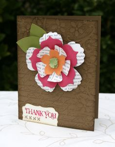 Stampin' Up!  Fun Flowers  Jessica Luther