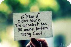 Plan B - quotes Photo