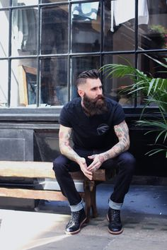 Mens fashion, men with beards, mens hairstyles