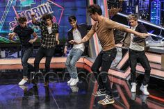 the boys attempting to dance :) <3