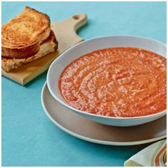 panerabread Smoky Roasted Red Bell Pepper Soup. Most smooth soups get ...