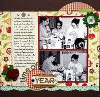 A Project by kimmoreno from our Scrapbooking Gallery originally submitted 11/10/09 at 11:53 AM