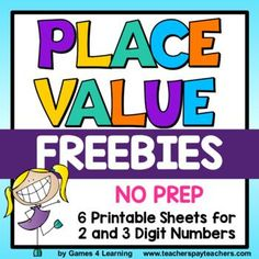 Place Value Free - Place Value Worksheets and Place Value