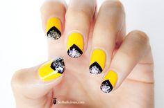 55 Best Yellow Nails Images Pretty Nails Cute Nails Nail Polish