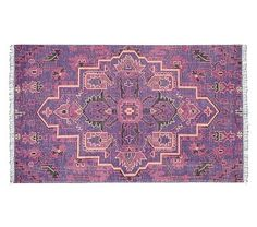 Marie Hand Knotted Medallion Rug #pbkids