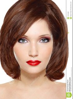 "Try Hairstyles Brilliant Model 1"" Created Using Taaz Virtual Makeovertry On Hairstyles"