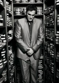 So what if he didn't attend film school. Tarantino's knowledge of cinema is encyclopedic, thanks to years working as a video store clerk and, at the same time, studying acting. Tarantino parlayed the sale of a film script into his initial directorial effort, RESERVOIR DOGS.  The rest, of course, is history.