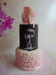 Amazing Ballet themed cake! (From For the Love of Cake Facebook page)