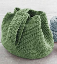 Crochet Bucket Bag. Enlace a patrón.