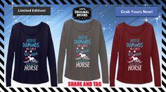 Wow! Launch a amazing Girl's Best Friend Horse T shirt design for horse lovers.https://teespring.com/girl-s-best-friend-horse …