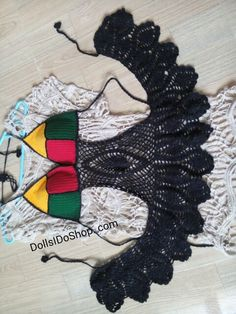 Crocheting bikini by me