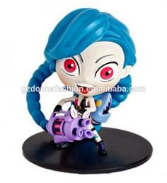 League of Legends Go ballistic Lolita jinx 003# doll model, View League of Legends, donnatoyfirm Product Details from Guangzhou Donna Fashion Accessory Co., Ltd. on Alibaba.com