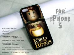 lego lord of the rings design print -