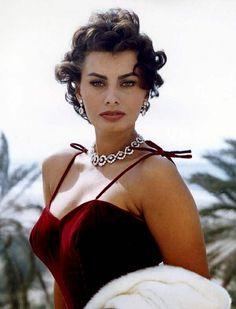 Sophia Loren~this lady has always been smokin hot.
